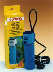 Filtraggio for Acquario con filtro esterno